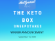 The Keto Box Sweepstakes Giveaway Winner September 2020